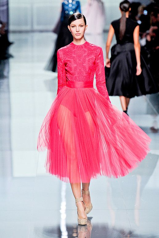Christian Dior 2012. fashion style gown dress runway Dior editorial