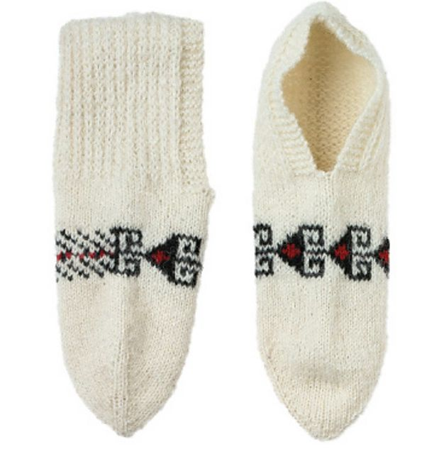 Ravelry: Persian Slippers by Donna Druchunas