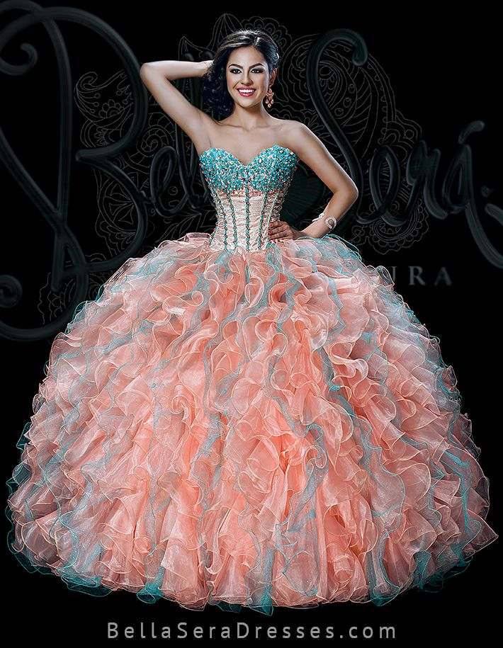 32 Best Quinceanera Dresses Bella Sera 2015 Images On