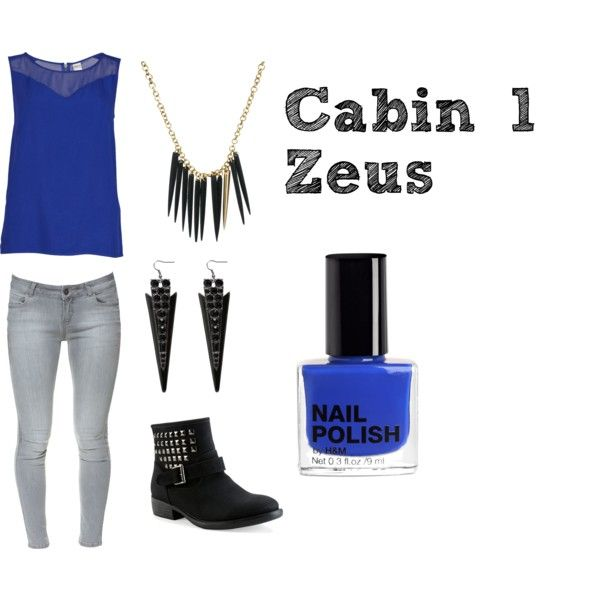 """Cabin 1: Zeus"" by skippy-skippers on Polyvore"