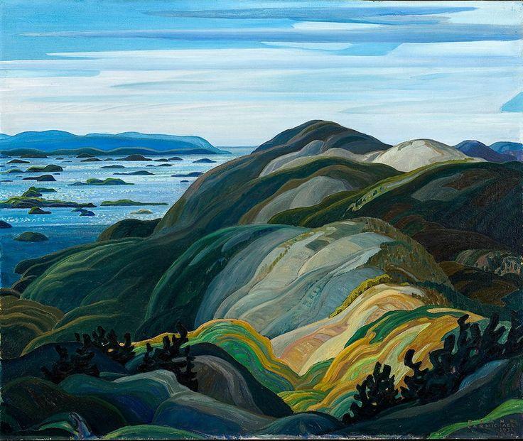 Franklin Carmichael - Bay of Islands