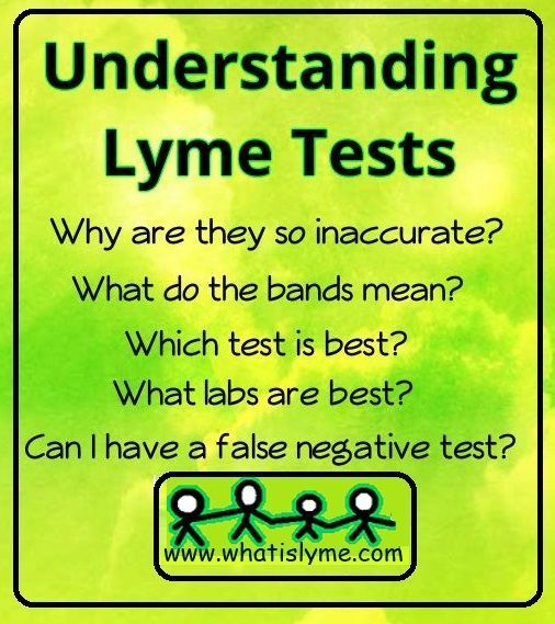 I Have Had Lyme Disease For 26 Years And I Still Get Confused About The Testing