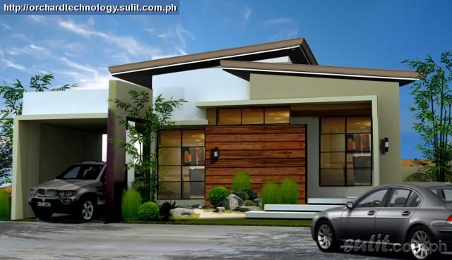 Brandnew Modern Bungalow House And Lot Package Angeles City Pampanga  - Modern bungalow building plan