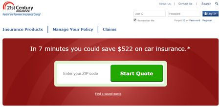 21st century insurance Company Review - Login and Locations near me