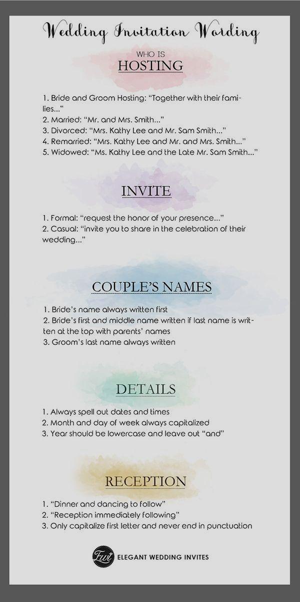 Wedding Invitation Wording Samples Wedding Invitation Etiquette Words Unique Wedding Invitation Wording Wedding Invitation Kits