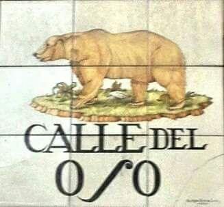 IMAGENES ANTIGUAS DE MADRID: CALLE DEL OSO