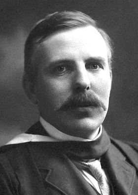 "Ernest Rutherford ""It was as if you fired a 15-inch shell at a sheet of tissue paper and itcame back to hit you."" -- Ernest Rutherford, about the scattering of alpha particles from gold foil, which resulted in the discovery of the atom nucleus."
