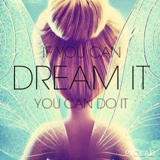 Si tu peux rêver tu peux le faire                                                                                                                                                                                 Plus