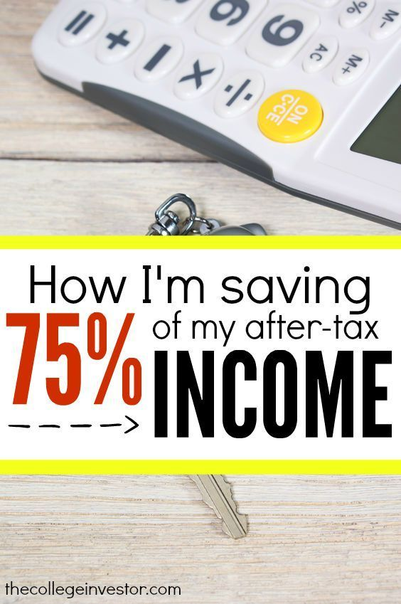 How I Save 75% of My After Tax Income Each Month