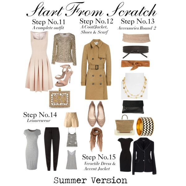 """""""Start From Scratch Steps 11 to 15"""" by charlotte-mcfarlane on Polyvore"""