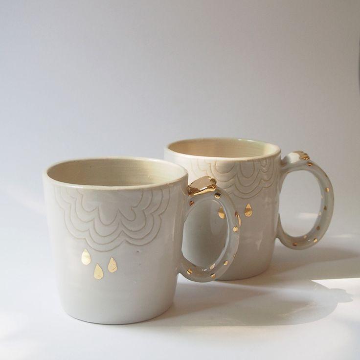 Mug by Momiji avec motifs nuages