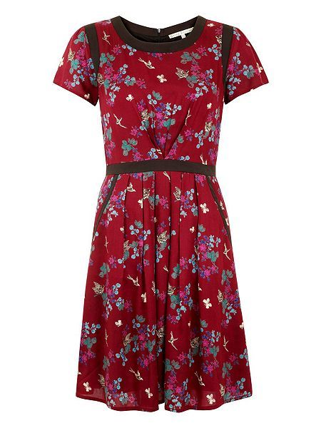 Edo Print Day Dress