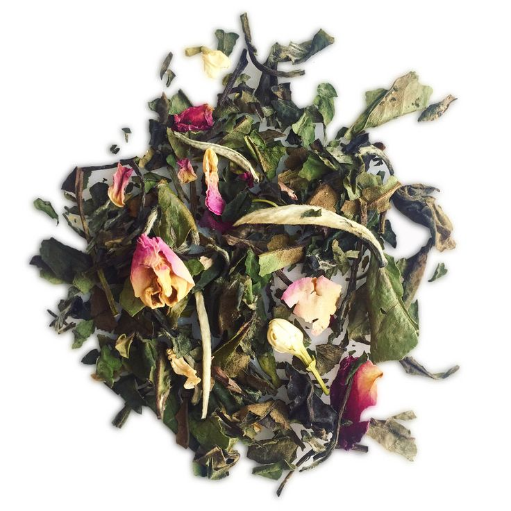Beauty Tea - Floral White Tea for Skin Glow. The antioxidants in white tea rejuvenate the skin while the jasmine and rose soften it.