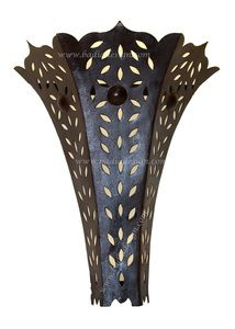 Moroccan rustic iron wall sconce including rustic iron wall sconce, Moroccan iron sconce, sconce, iron wall sconce, Moroccan sconces, iron sconce, Moroccan rustic iron wall sconce lighting, sconce wall lighting, Moroccan sconce wall lighting, Moroccan style wall sconce