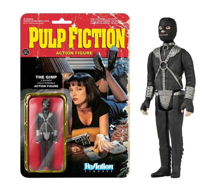 Pulp Fiction - The Gimp  Funko  Reaction Figures, Pulp Fiction series, Pulp Fiction www.detoyboys.nl