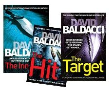 Calling all David Baldacci fans... get the Wil Robie series for ONLY R149