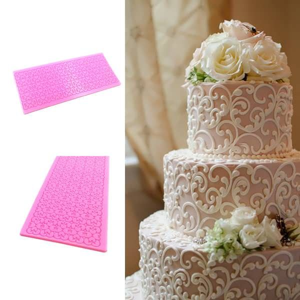 Lace Silicone Cake Mold Fondant Print Mould Decorating Tool  What does include #goodbuy:  Enjoyable shopping at cheapest prices Best quality goods 24/7 support & easy communication 1 day products dispatch from warehouse Fast & reliable shipment (7-25 business days)   ...