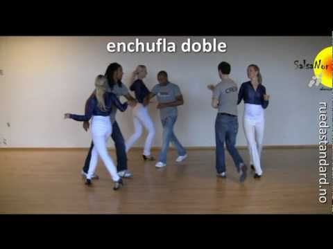 enchufla doble (rueda de casino figure) - YouTube