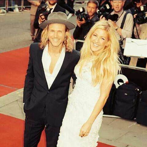 Dougie Poynter and Ellie Goulding