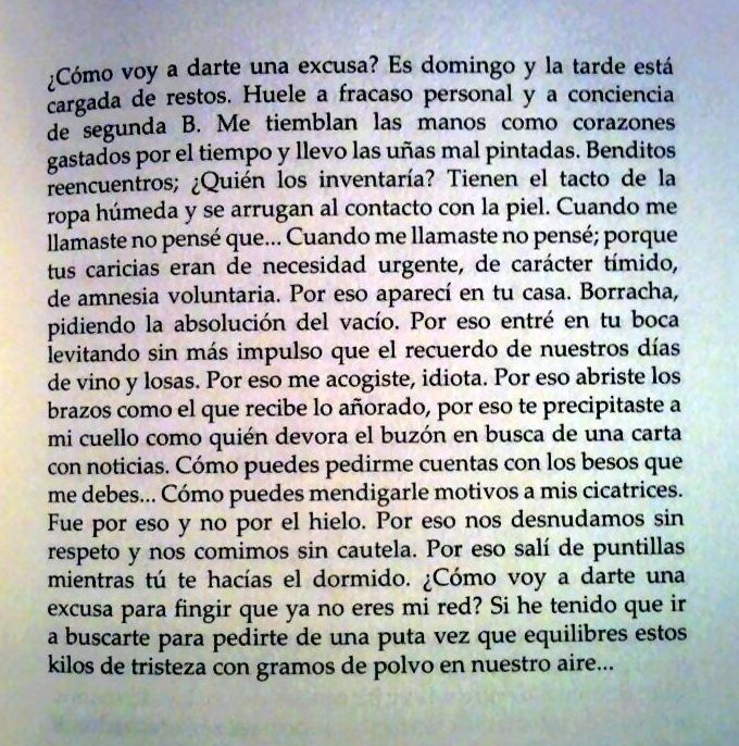 Si es que no sabemos dar finales. #elsexodelarisa #IreneX ni #amor ni #tristeza, mucho menos una #excusa