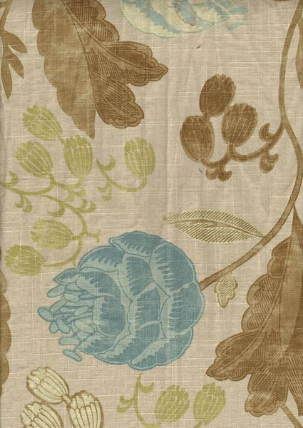 Cottage Home Furniture - Wendell Seascape Fabric (E)