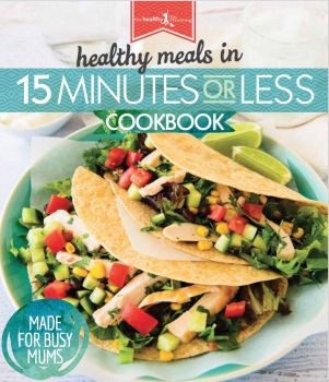 15 MINUTES OR LESS HARD COVER RECIPE BOOK