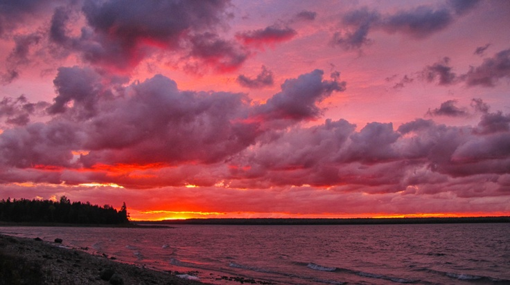 South Bay, Manitoulin Island, Ontario, Canada.