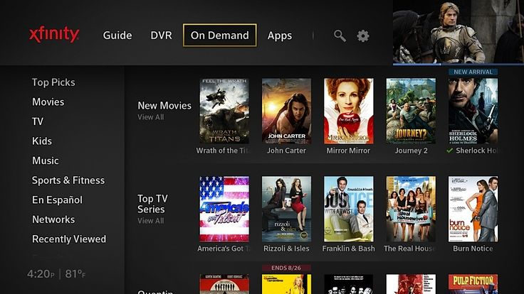 Comcast's new X1 UI integrates real-time and streaming TV with news and social apps