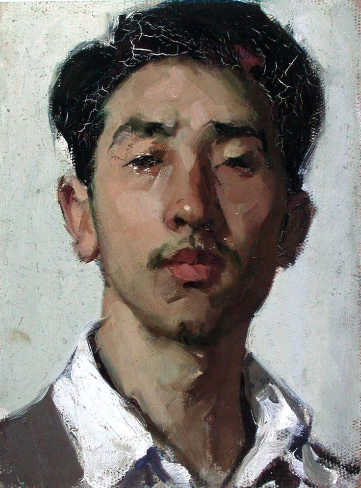 Oil Painting Portraits (с изображениями)   Техники ...