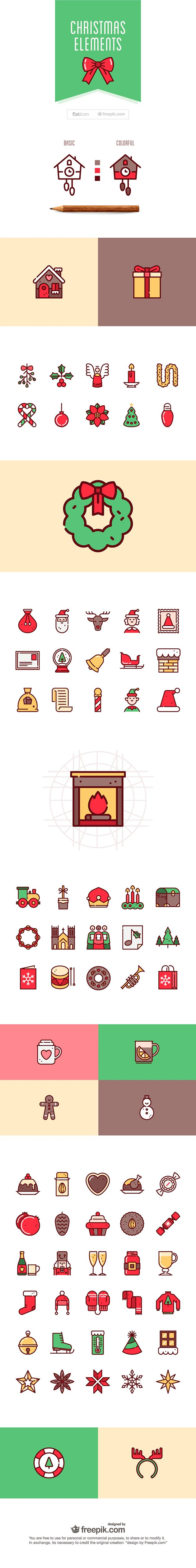 75+ free christmas vector icons free, christmas, vector, icons