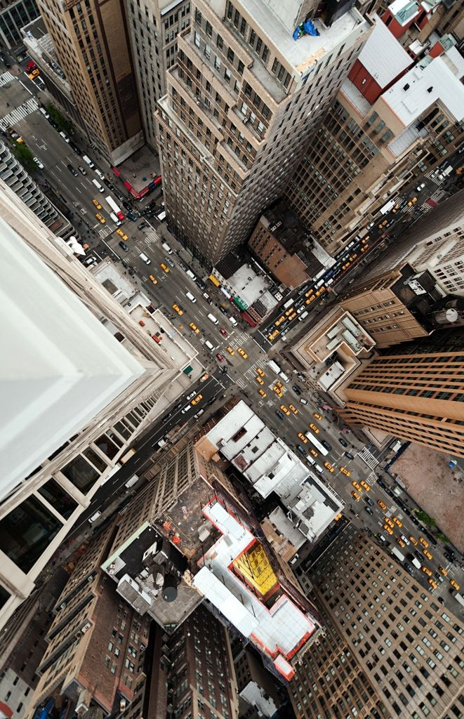 NYC. Manhattan from above