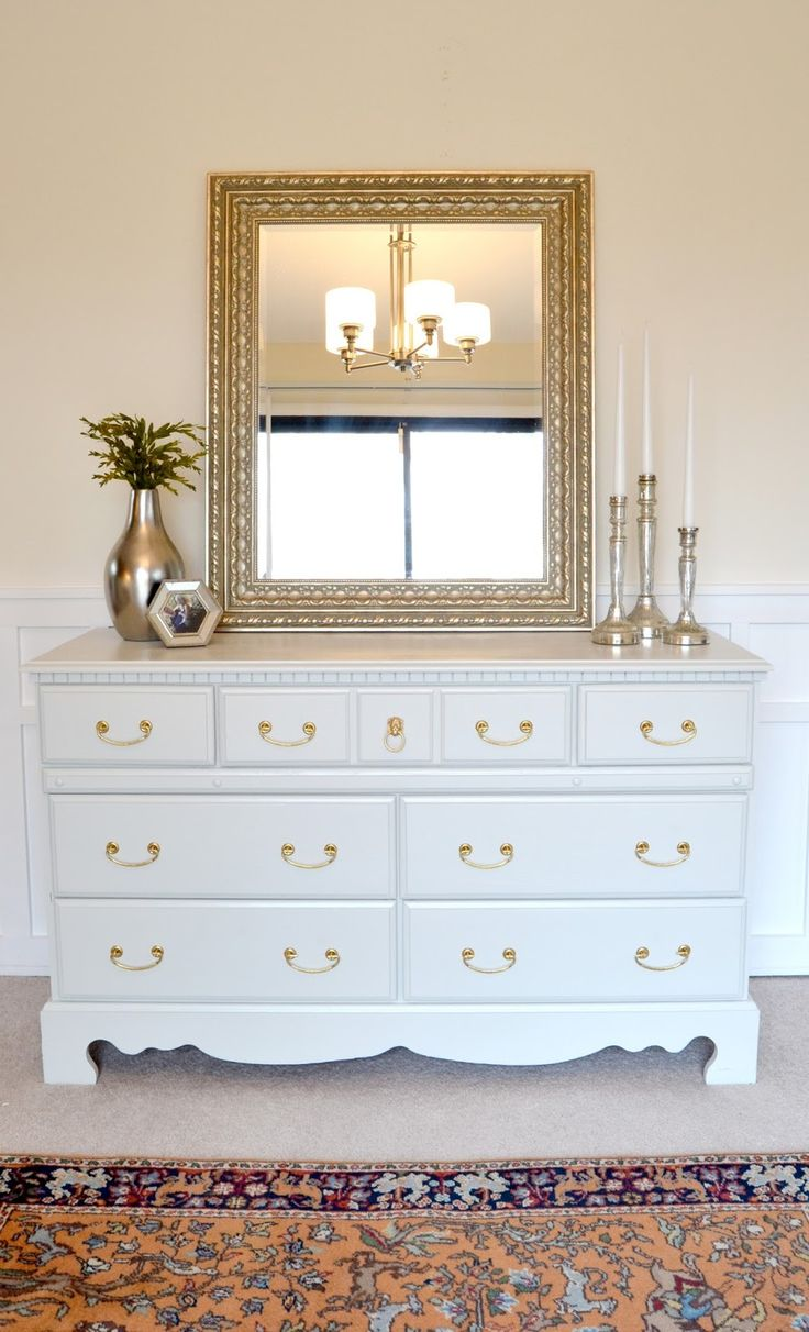 25 best ideas about painting furniture white on pinterest - How to decorate a dresser in bedroom ...
