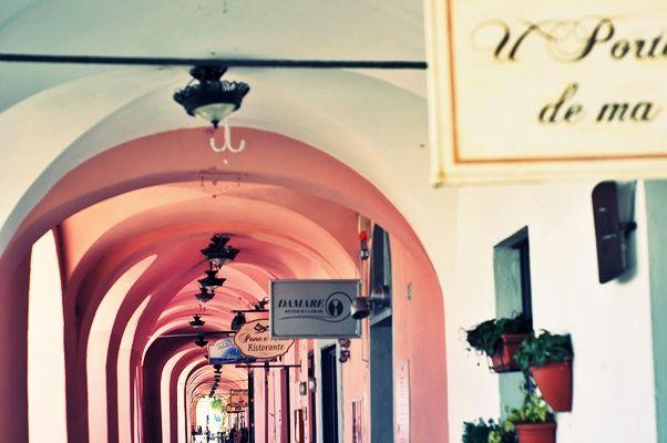 I portici di Oneglia #Liguria