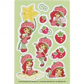 PP Strawberry Shortcake 20 stickers | Strawberry Shortcake feest | Helena`s kinderfeesten
