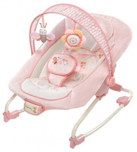 Vibrační lehátko Felicity Floral™ poskytuje děťátku maximální komfort.