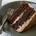 Chocolate Cake with Chocolate Buttercream (Paleo, Grain Free, Gluten Free) - Deliciously Organic