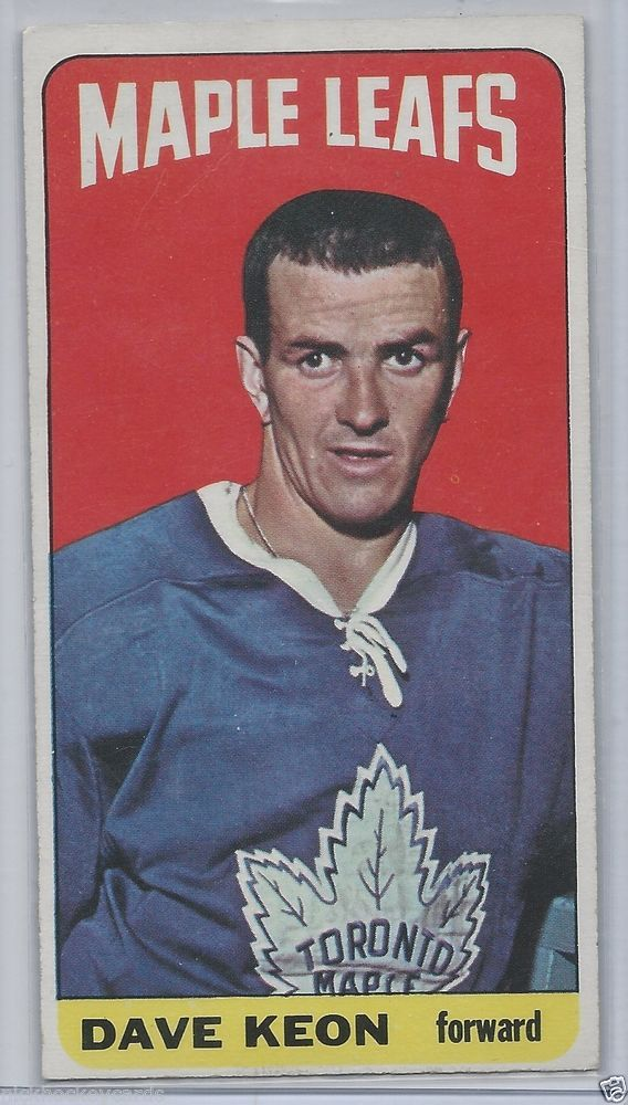 Dave Keon 1964-65 Topps Tall Boys High Number# 94 NM