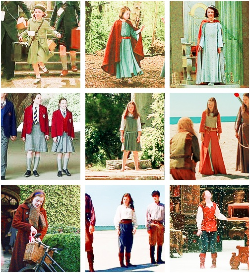 Lucy Pevensie's style