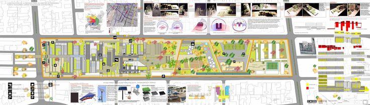 Planta Plan Maestro Techumbres + Estrategias   bioclimaticas y de sustentabilidad.
