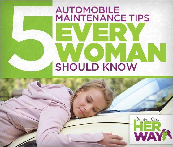 5 Easy Car Care Tips for Women #car #tips #women