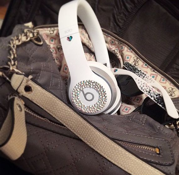 Swarovski Crystals to Customize Beats By Dre por thinkpinkdreamblue