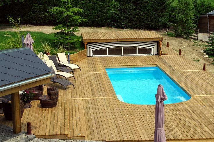 13 best images about terrasses on pinterest we nice and for Piscine bois terrasse