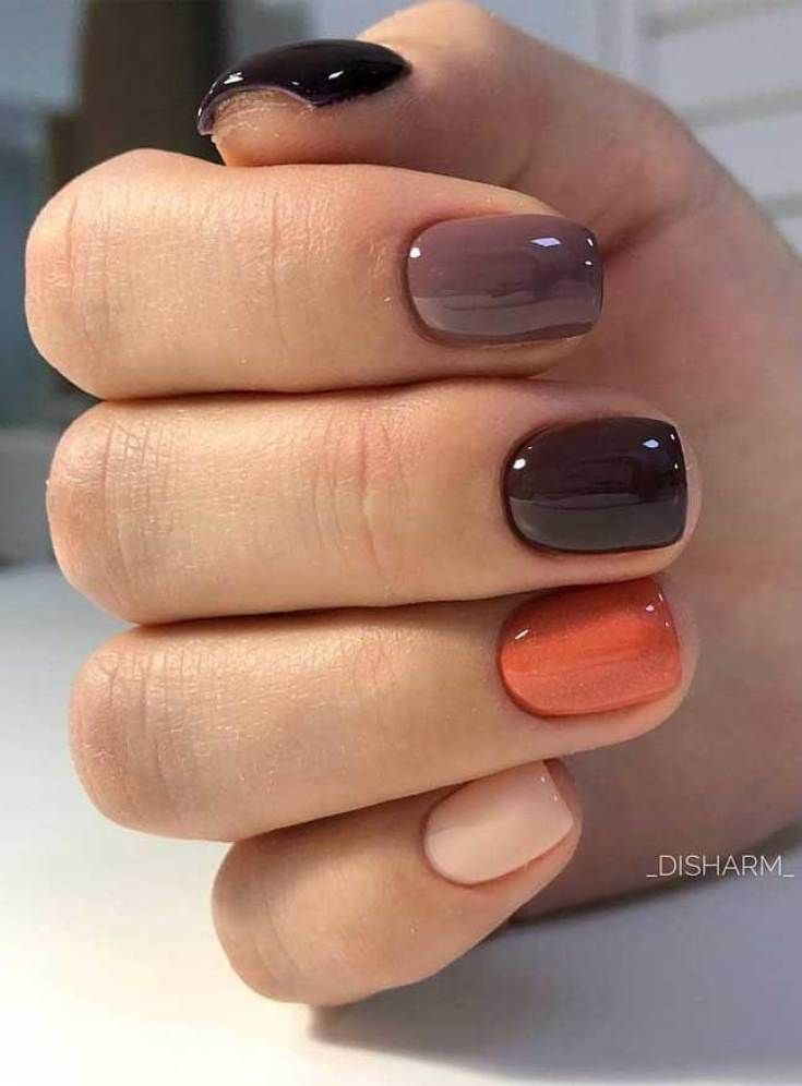39 Trendy Fall Nails Art Designs Ideas To Look Autumnal and