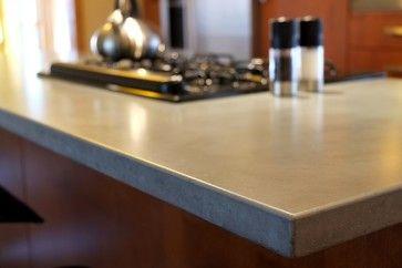 Elegant Concrete Counter Tops   Contemporary   Kitchen Countertops   St Louis    Customcrete, Inc.