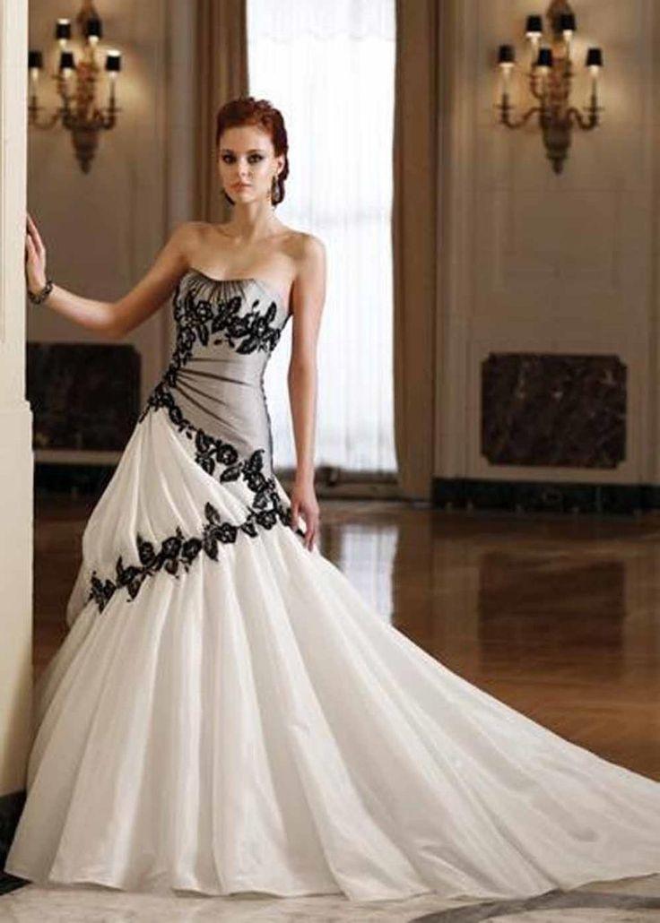 Vestito da sposa nero y colores
