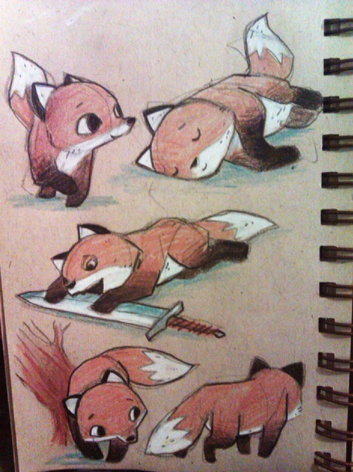 example of simplified animal pictures for children