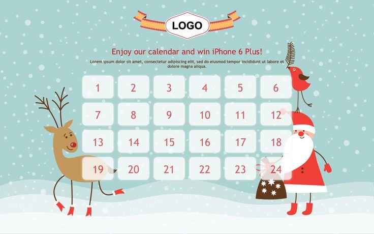 Advent calendar 2D
