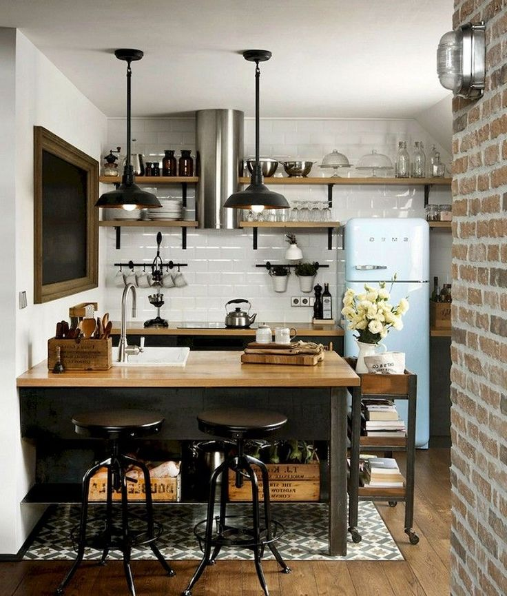 10 Layouts Perfect for Your Tiny Kitchen area #ki…