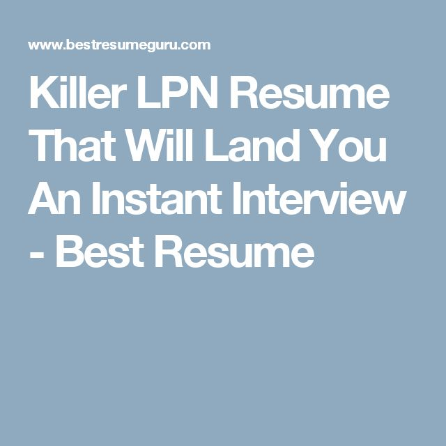 Best 25+ Lpn resume ideas on Pinterest Student nurse jobs, The - home health care nurse resume