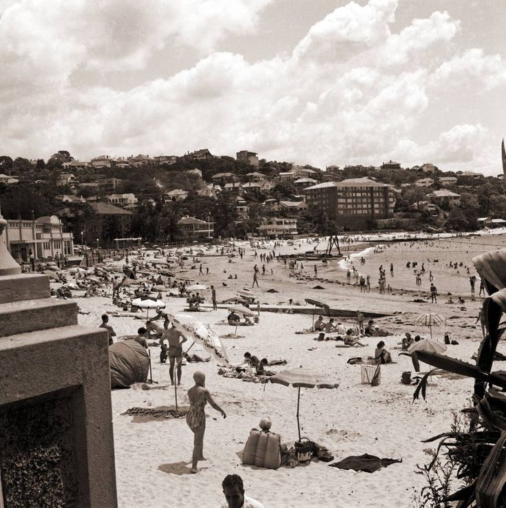 The northern end of Balmoral beach 1950s.